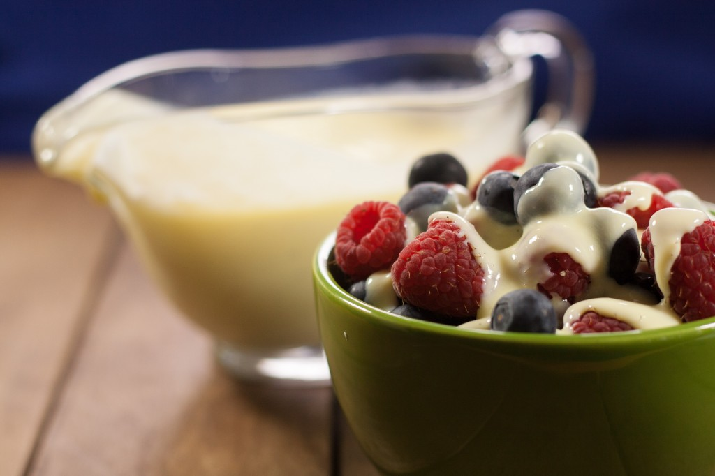 Custard & Fruit