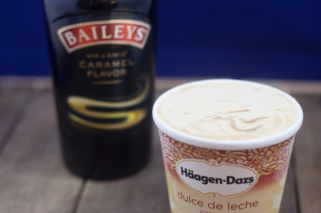 Ice Cream and Baileys