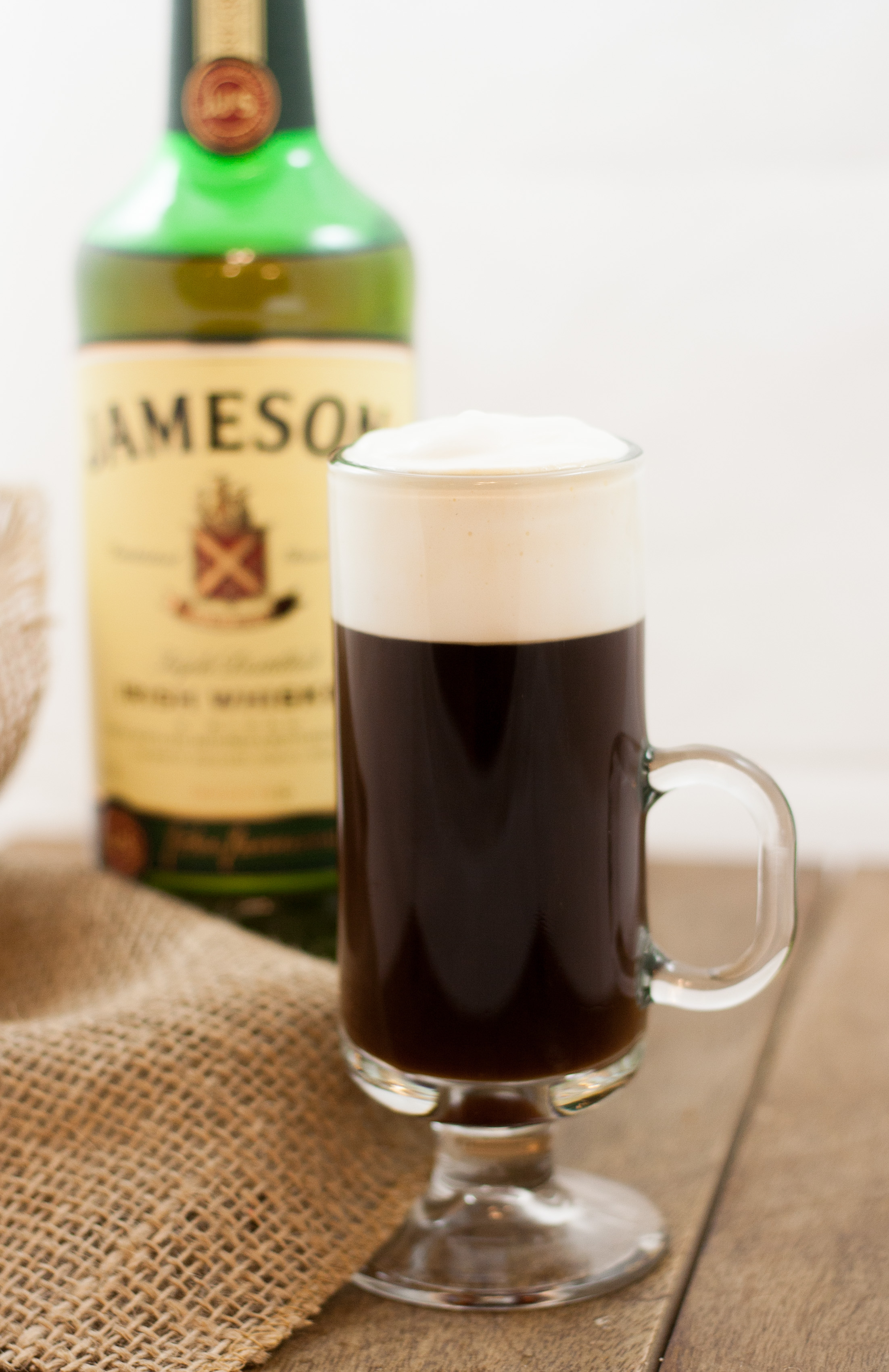 Minty Irish Coffee