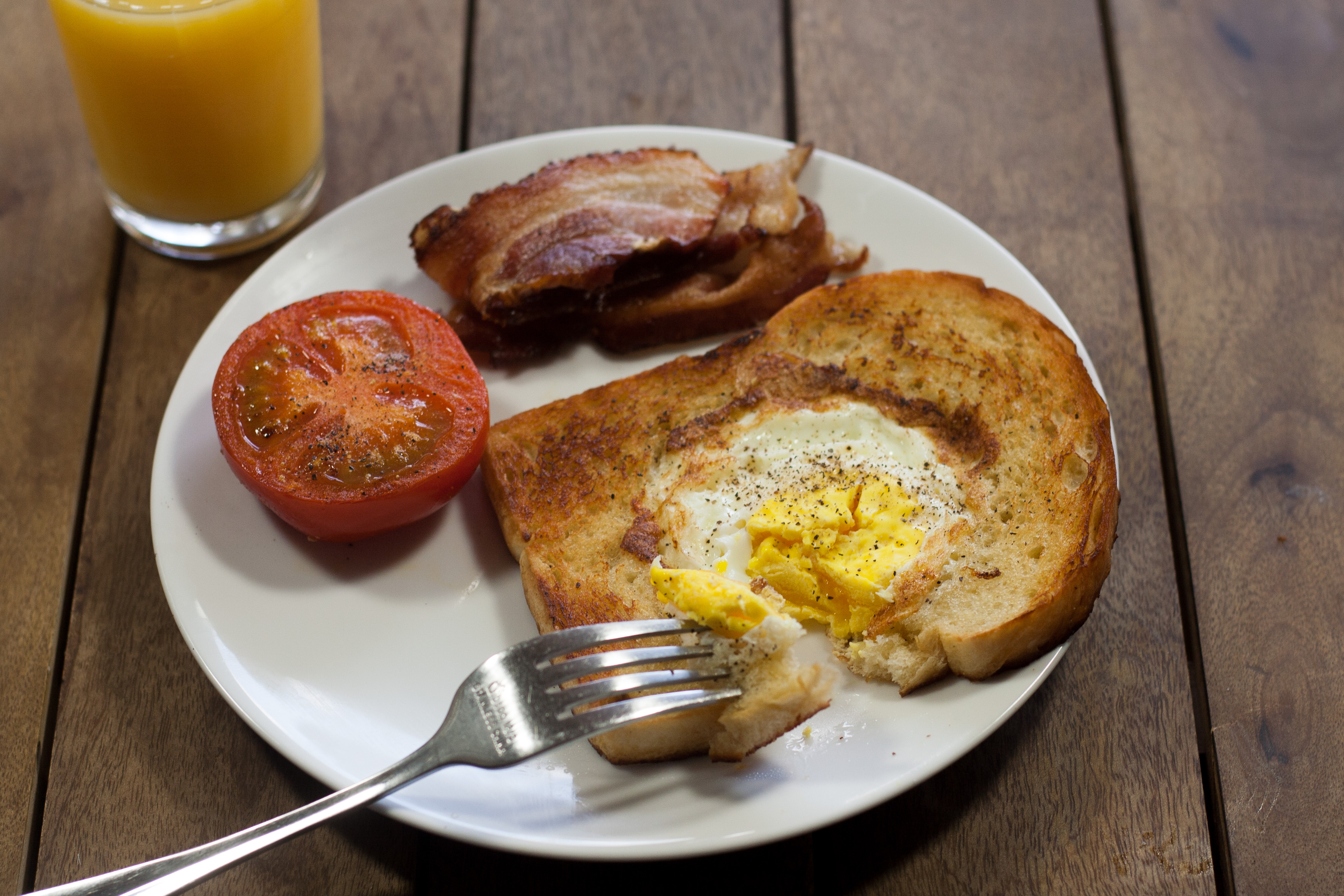 Toad in a hole it was then called twin sun toast as the eggs were supposed to be the twin suns of tatooine that book is a great recipe book for any star wars fans forumfinder Image collections
