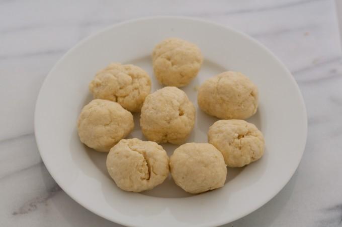 Dumpling balls