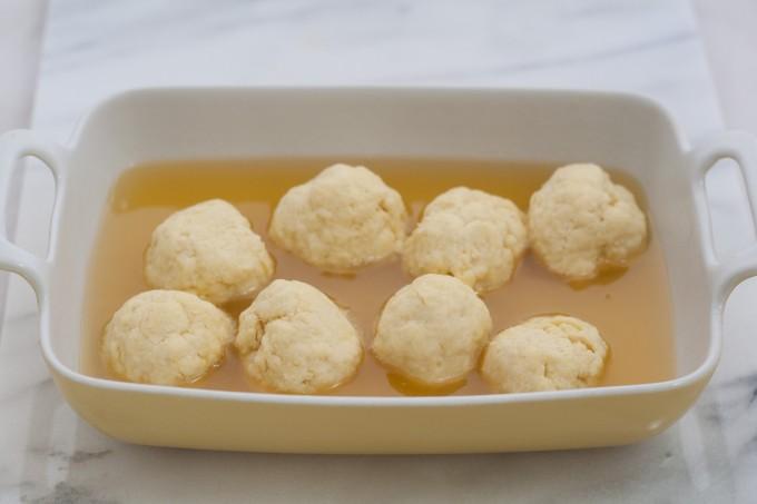 Dumplings before cooking
