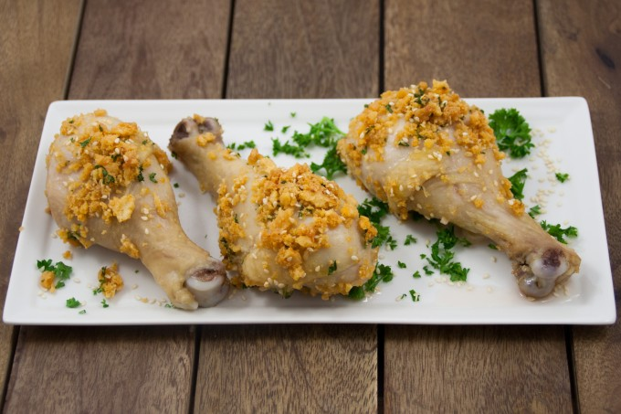 Golden Sesame Drumsticks