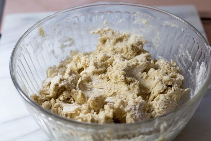 Making Scones - Dough
