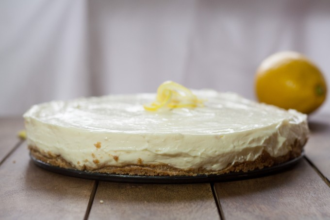 Lemon Cheesecake - Whole