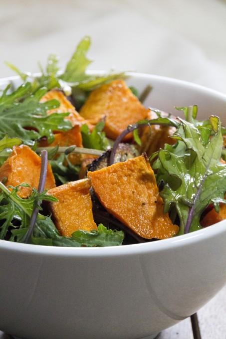 Closeup of Sweet Potato Salad