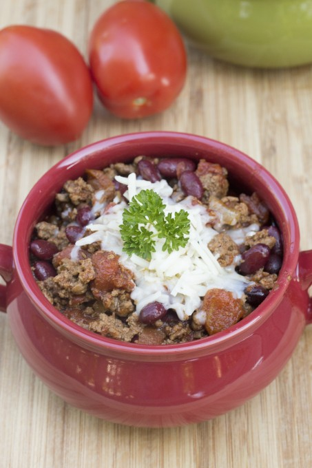 Beef Chili Vertical