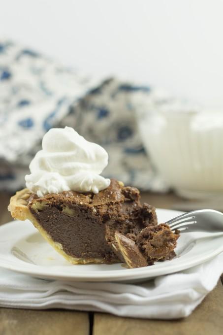 Bite of Chocolate Pecan Pie