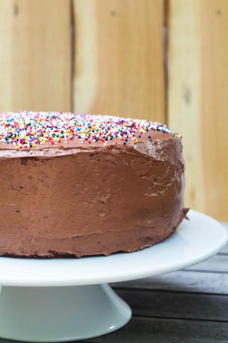 Half of Yellow Cake