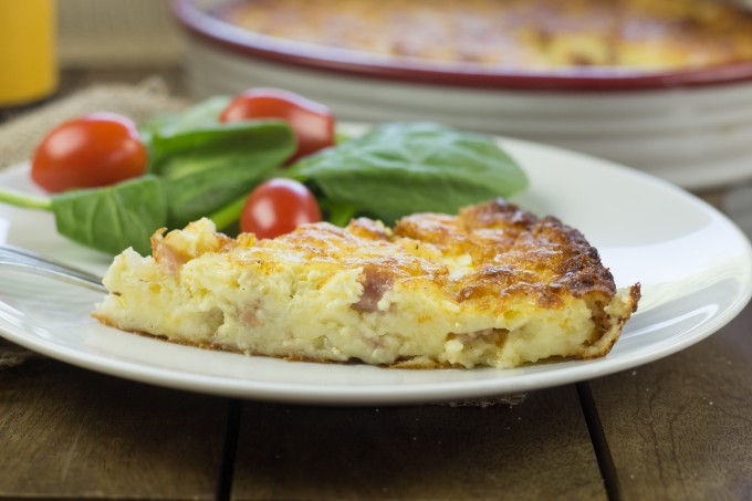 Impossible Pie - Quiche