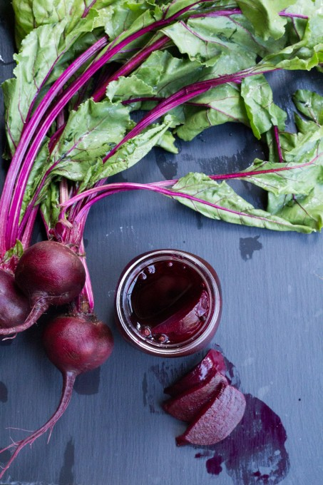 Looking Down on Beets