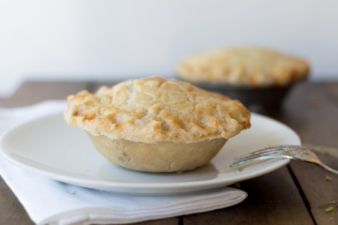 Meat Pie out of Tin