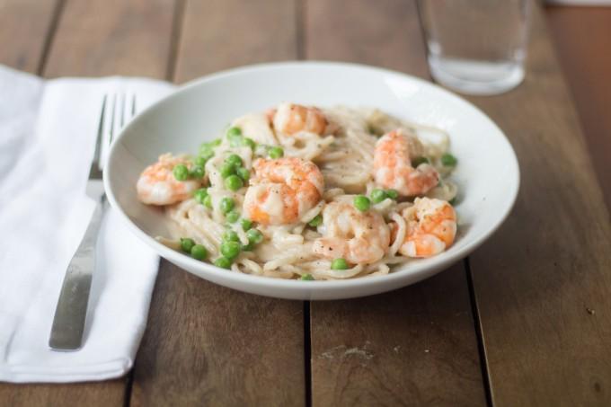 Delicious Shrimp Pasta