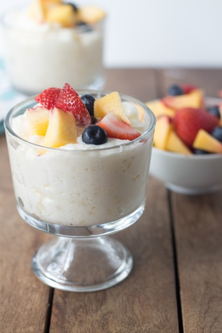 Sago Pudding with Fruit