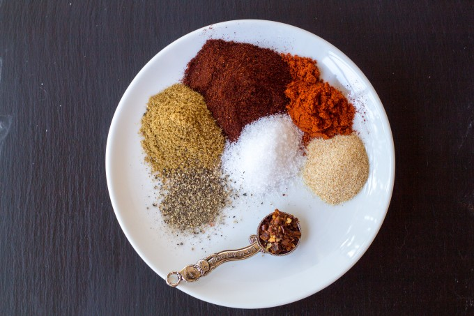 Taco Seasoning Individual Spices