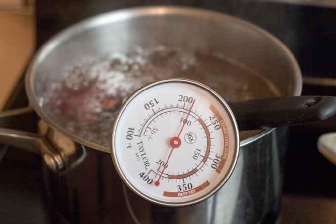 Boiling Water to Check Thermometer