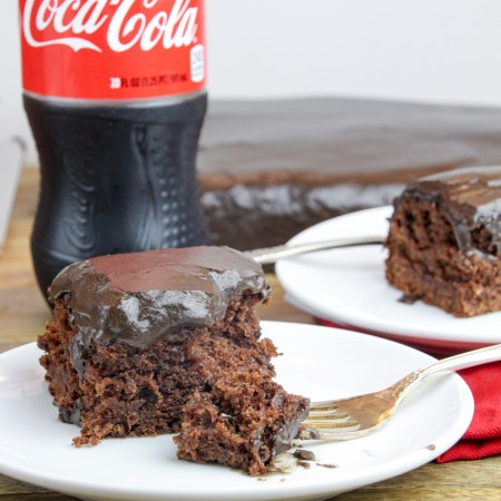 A Bite of Coca Cola Cake