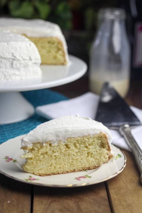 Tres Leches Cake without extra cream