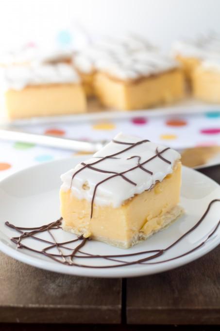 A slice of Vanilla Slice