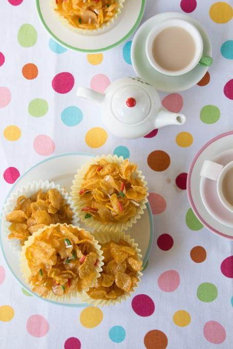Easy Honey Cornflakes Cakes