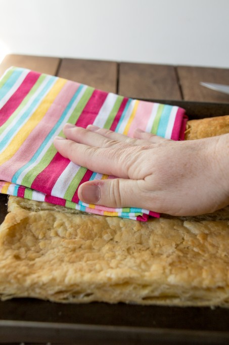 Flattening the Puff Pastry