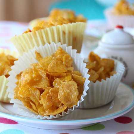 Honey Cornflakes Cakes