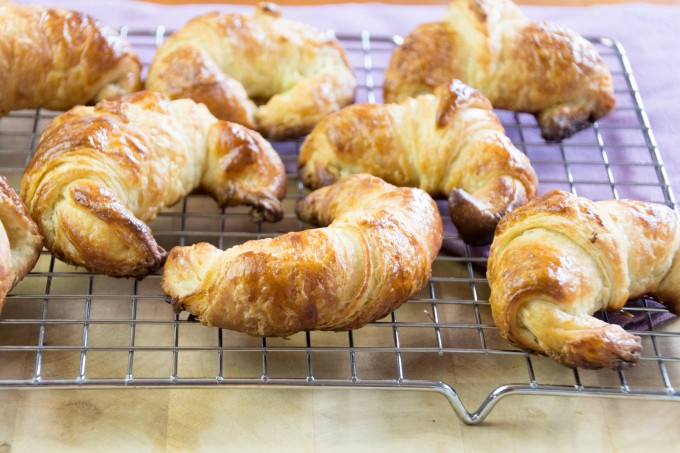 Croissants fresh from Oven