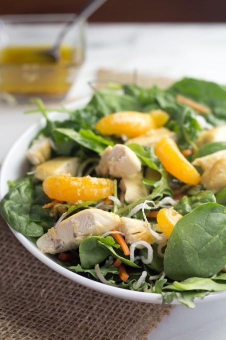 Eye Healthy Asian Chicken Salad