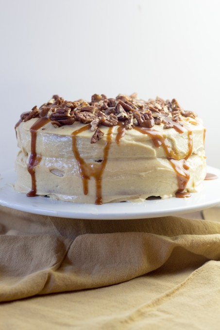 Caramel Cake with Browned Butter Frosting