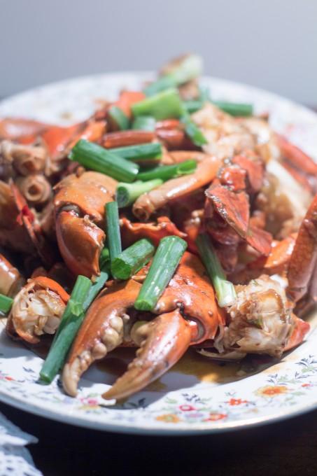 Plate of Chili Crab