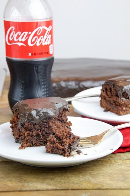 A Bite of Coca Cola Cake