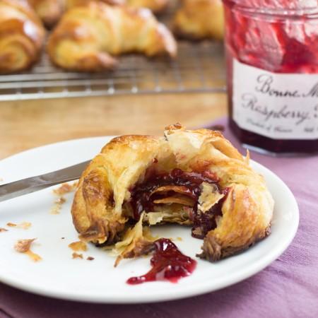 Croissants with Jam